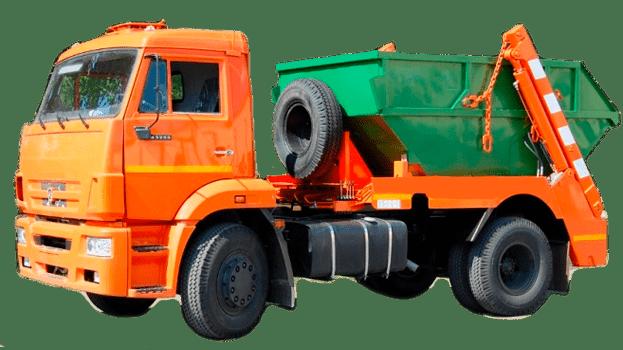 вывоз мусора 8 м3 кубических метров